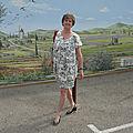 Un rêve de vacances .... avec ma robe Nouméa ... et sa veste assortie