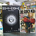 <b>Death</b> note Black ed. 8€ , One punch man, Yu-Gi-Oh! 4.50€ pièce
