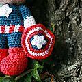 <b>Captain</b> <b>America</b> Amigurumi