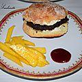 Hamburger-frite sucré