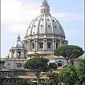 Mon top 10 les coupoles: N°2: La basilique <b>Saint</b> <b>Pierre</b> (Rome, Vatican)