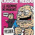 Le dilemme des migrants - par Coco - Charlie Hebdo N°1206 - 2 septembre 2015