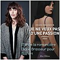 Mon interview <b>exclusive</b> de Diane Brasseur, pour son roman