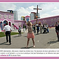 La  Maison <b>Barbie</b>  fait polmique  Berlin - Les FEMEN interviennent...
