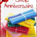 Le swap anniversaire c'est parti!