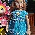 Une nouvelle petite robe pour Emmy...