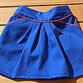 Une mini perle en bleu / blanc / rouge !