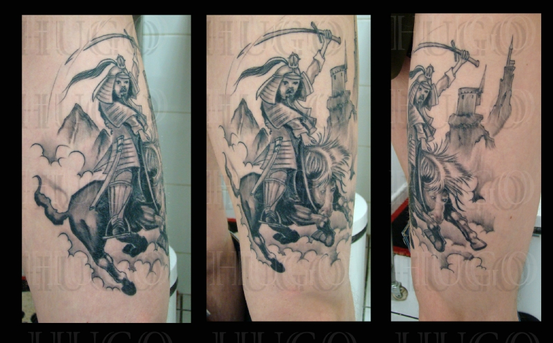 samourai - Photo de photos tatouages - Hugo tattoo