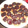 Tarte aux betteraves rouges