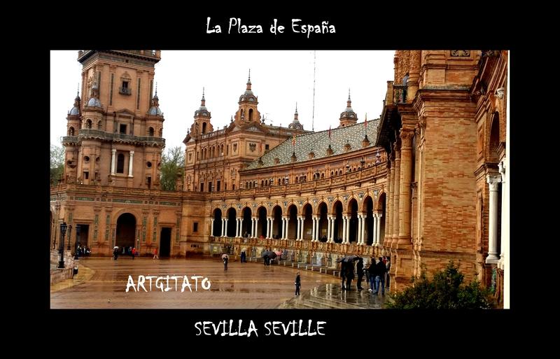 La plaza de España Sevilla Artgitato Seville 2
