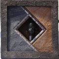 Cadre miniature : les carrés croisés