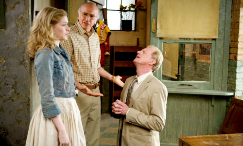 Evan Rachel Wood, Larry David et Ed Begley Jr.