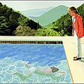 DAVID HOCKNEY OU LE CALIFORNIA DREAMIN'