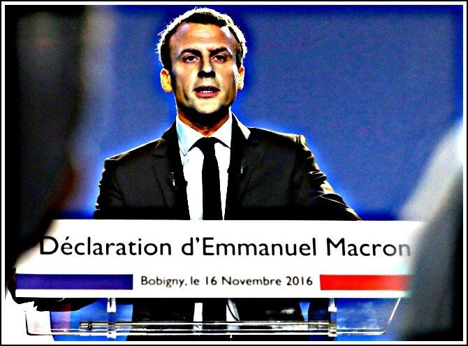 Macron Bobigny