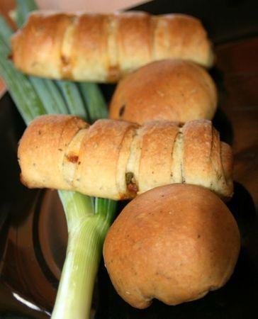recettes  petits pain farcis au thon (buns au thon)
