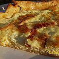 Goat Cheese and Bacon Quiche