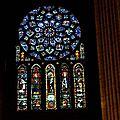 Pentagramme caché dans la <b>cathedrale</b> de chartres