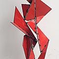 GIL. S - Sculpteur Métal - Acier, inox, art sculpture