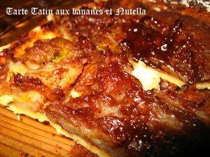 recettes  Tarte chocolat bananes
