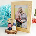 Figurines personnalisées fête des grands-pères