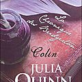 La Chronique des Bridgerton, Tome 4: Colin - Julia <b>Quinn</b>