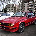 <b>ALFA</b> <b>ROMEO</b> Alfetta GTV Special Grand Prix 1982