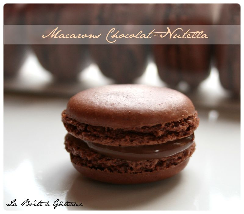 Creme Au Nutella And Macarons Recipes — Dishmaps