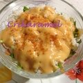 Salade de crabe <b>sauce</b> <b>cocktail</b>
