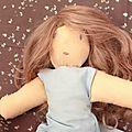 Loulou O, <b>défi</b> 1ère poupée, vêtements