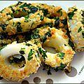 Calamars en croûte de persillade