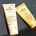 Mon duo de choc Nuxe <b>Sun</b> pour un été parfait !