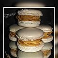 Macarons ganache <b>caramel</b> <b>beurre</b> <b>salé</b>