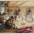 La souris bariolée