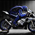 Motobot R1M - Le robot capable de piloter une moto de série - <b>Yamaha</b>
