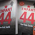 Enfant 44, de <b>Tom</b> Rob Smith