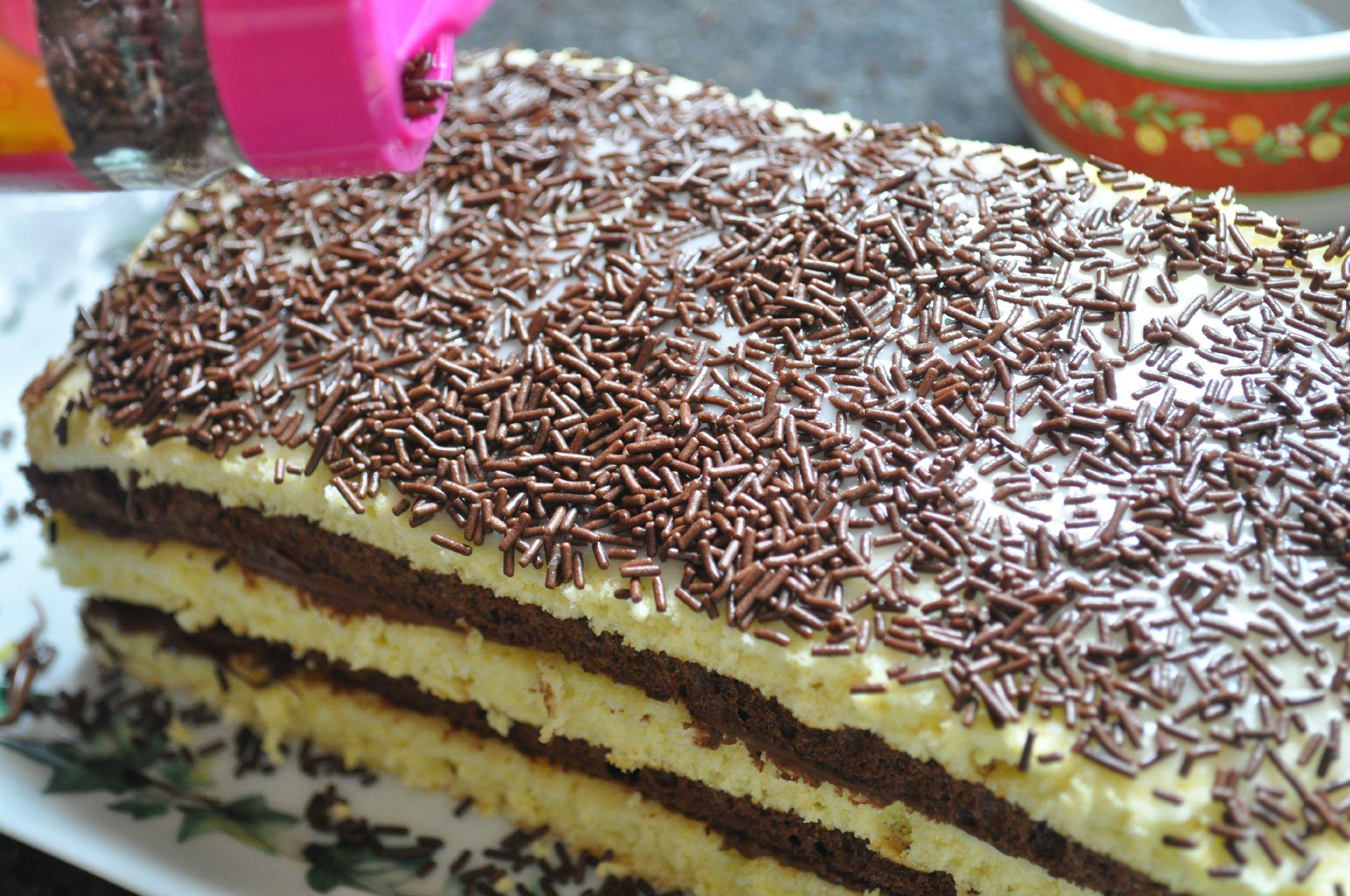 Favori Napolitain tout moelleux (base de génoise) - Blog cuisine avec du  NS68