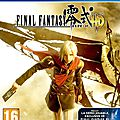 Test : Final Fantay Type-0 HD