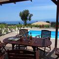 Vivez des vacances de rêve en louer une villa avec piscine privée sur l'île Grecque de Céphalonie