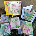 Un ensemble de <b>cartes</b> en Crafty Individuals / A set of cards in Crafty Individuals