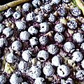 Création pistache-griottes