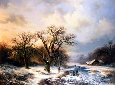 koekkoek_winterlanschaft_mit_