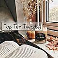 Top <b>Ten</b> Tuesday # 75