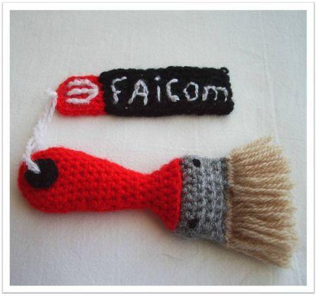 Pinceau crochet faicom