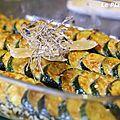 Gratin de courgettes au <b>parmesan</b>