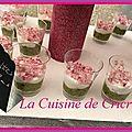 Courgettes, chèvre frais et <b>radis</b>
