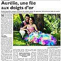 Il était une fois mon premier <b>article</b> dans le journal...