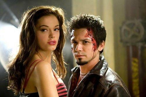 Rose McGowan et Freddy Rodriguez