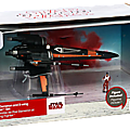 My collection : New objet N° 171 - <b>Disney</b> Poe Dameron boosted X-wing