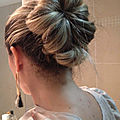 Coiffure chic/simple