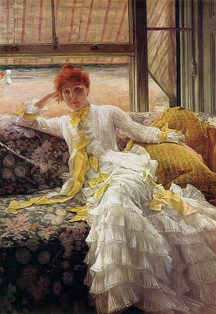 James Tissot Seaside